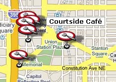 Georgetown Law Campus Map.More Union Eateries