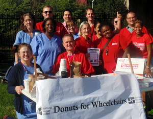 Nurses Hold Bake Sale to Raise Money for Wheelchairs at Wealthy Washington Hospital Center